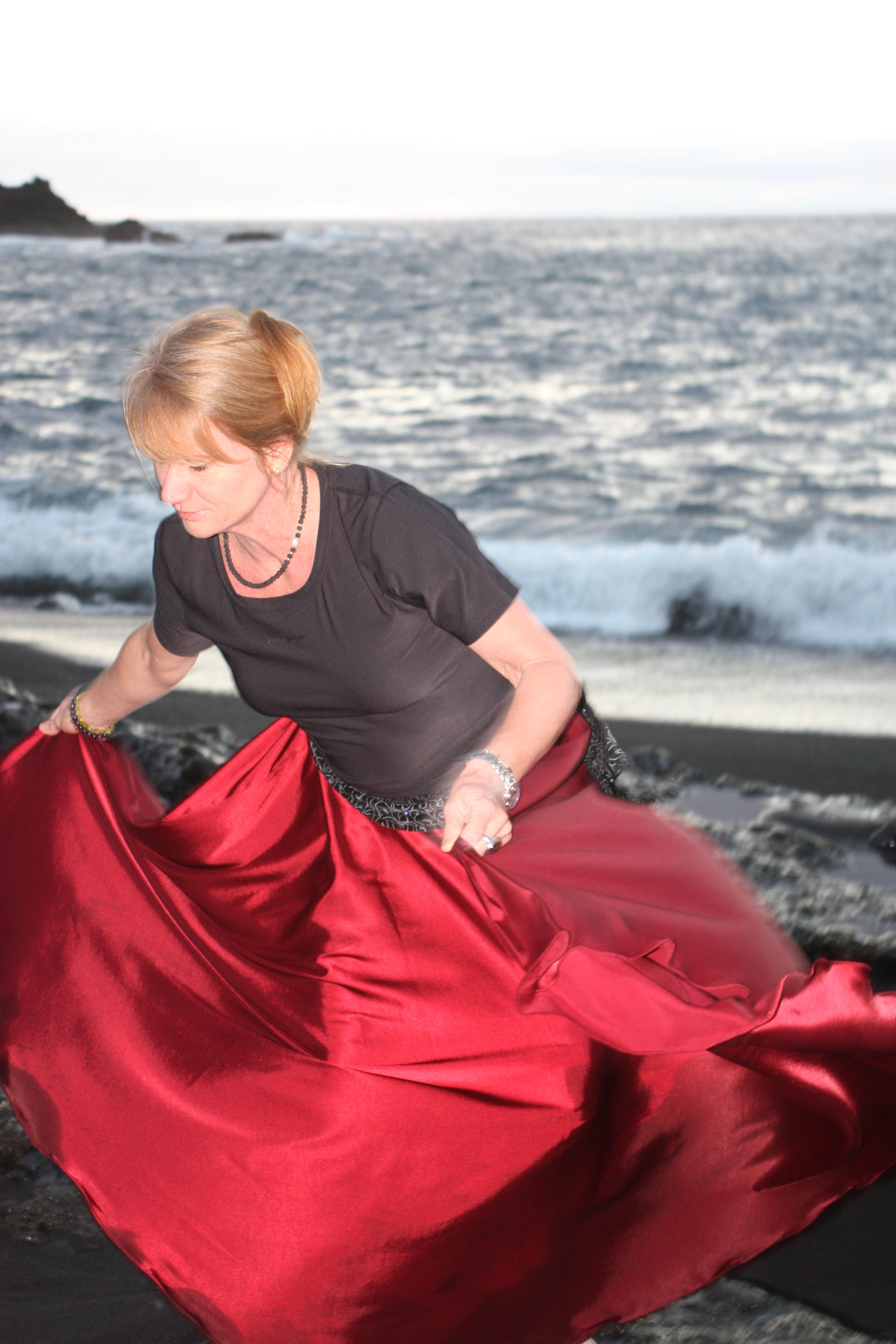 Andrea Hügelschäfer tanzt